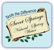 Sweet Springs Valley Water in Southern WV & Southwestern VA